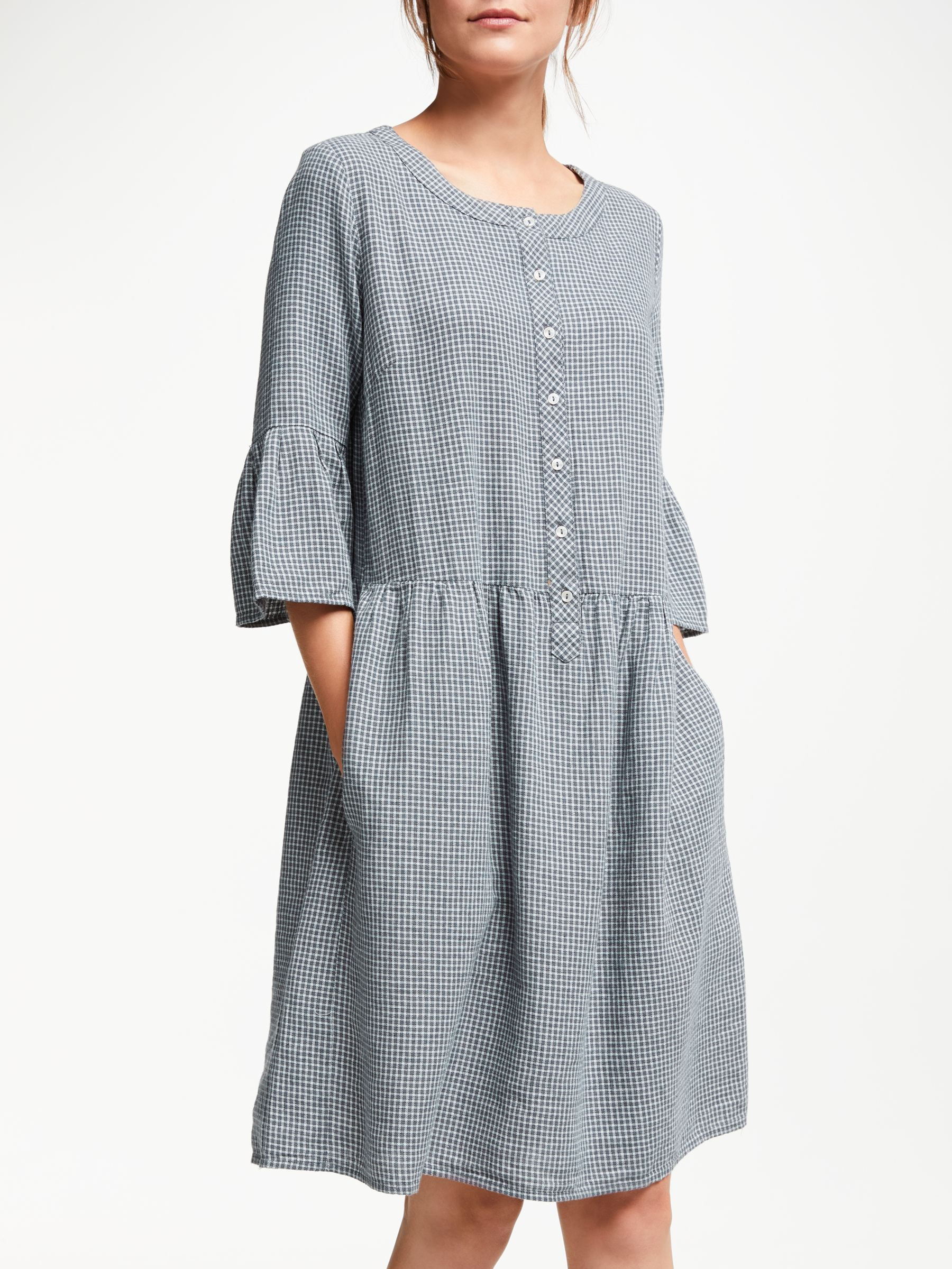 Thought Delfy Dress Slate Grey At John Lewis Partners