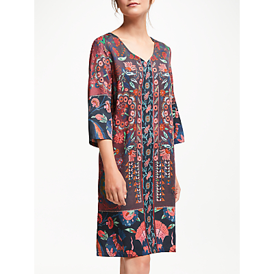 Thought Tapestry Dress, Aubergine