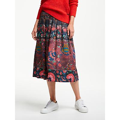 Thought Tapestry Skirt, Aubergine