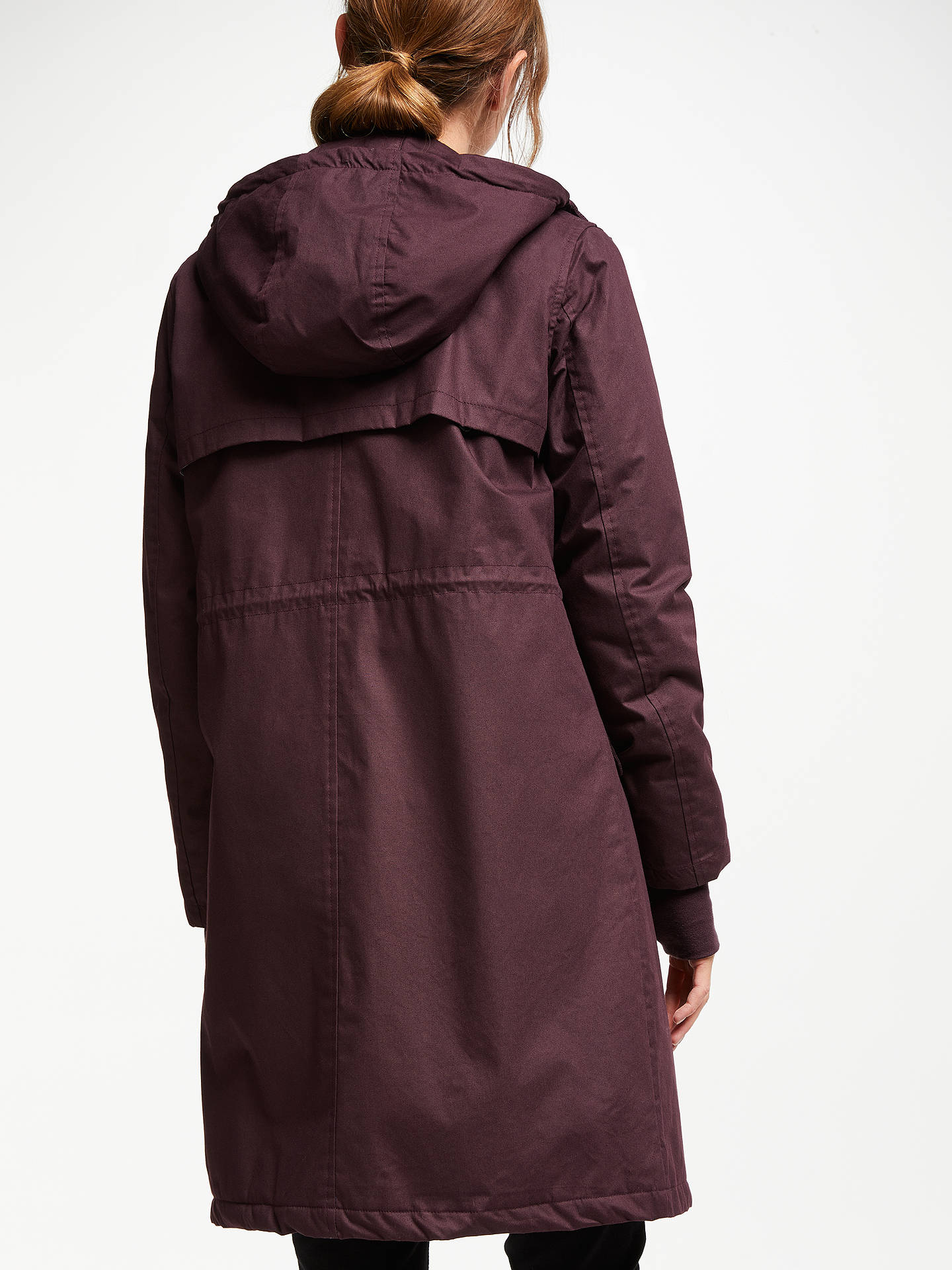 Buy Thought Faye Coat, Aubergine, 10 Online at johnlewis.com