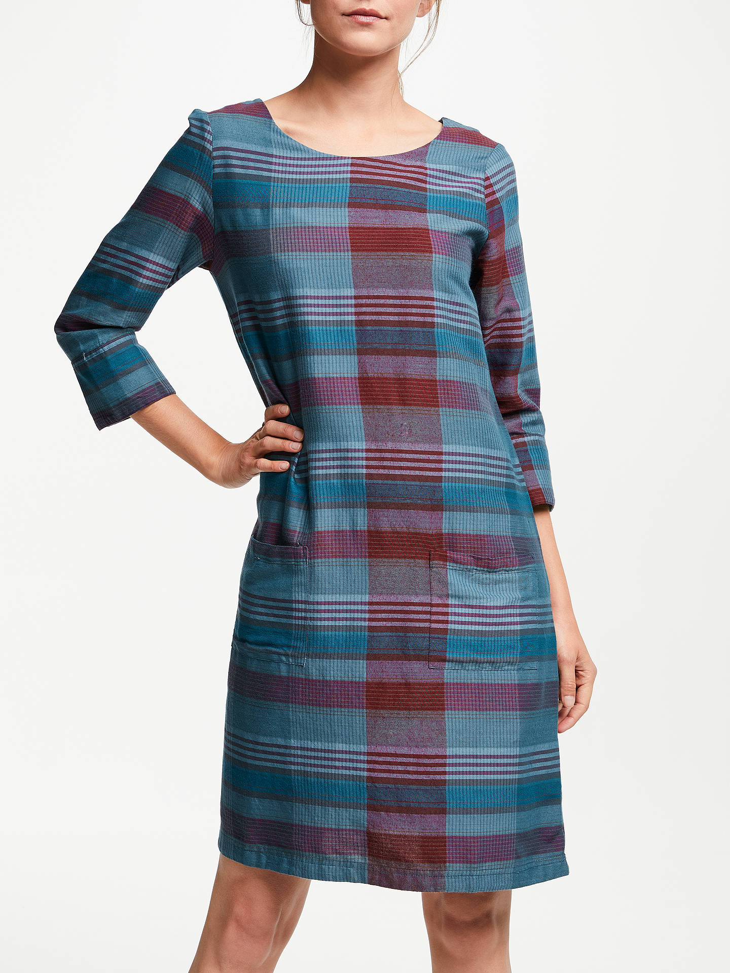 BuySeasalt Folly Cove Tunic Dress, Choreography Blue/Multi, 8 Online at johnlewis.com