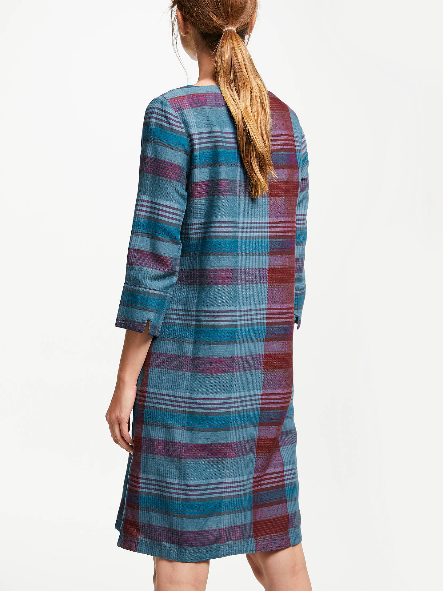 Buy Seasalt Folly Cove Tunic Dress, Choreography Blue/Multi, 18 Online at johnlewis.com