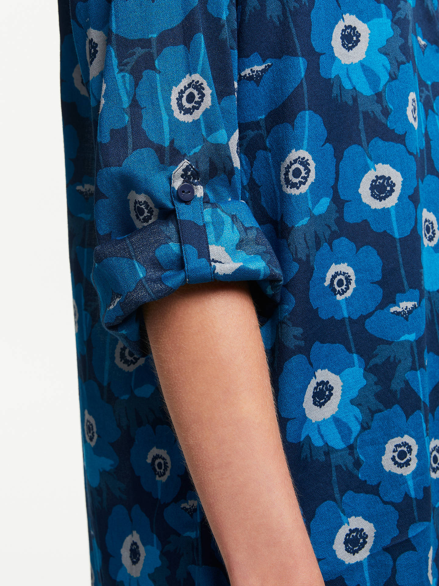 Buy Seasalt Polpeor Tunic Top, Blue, 10 Online at johnlewis.com