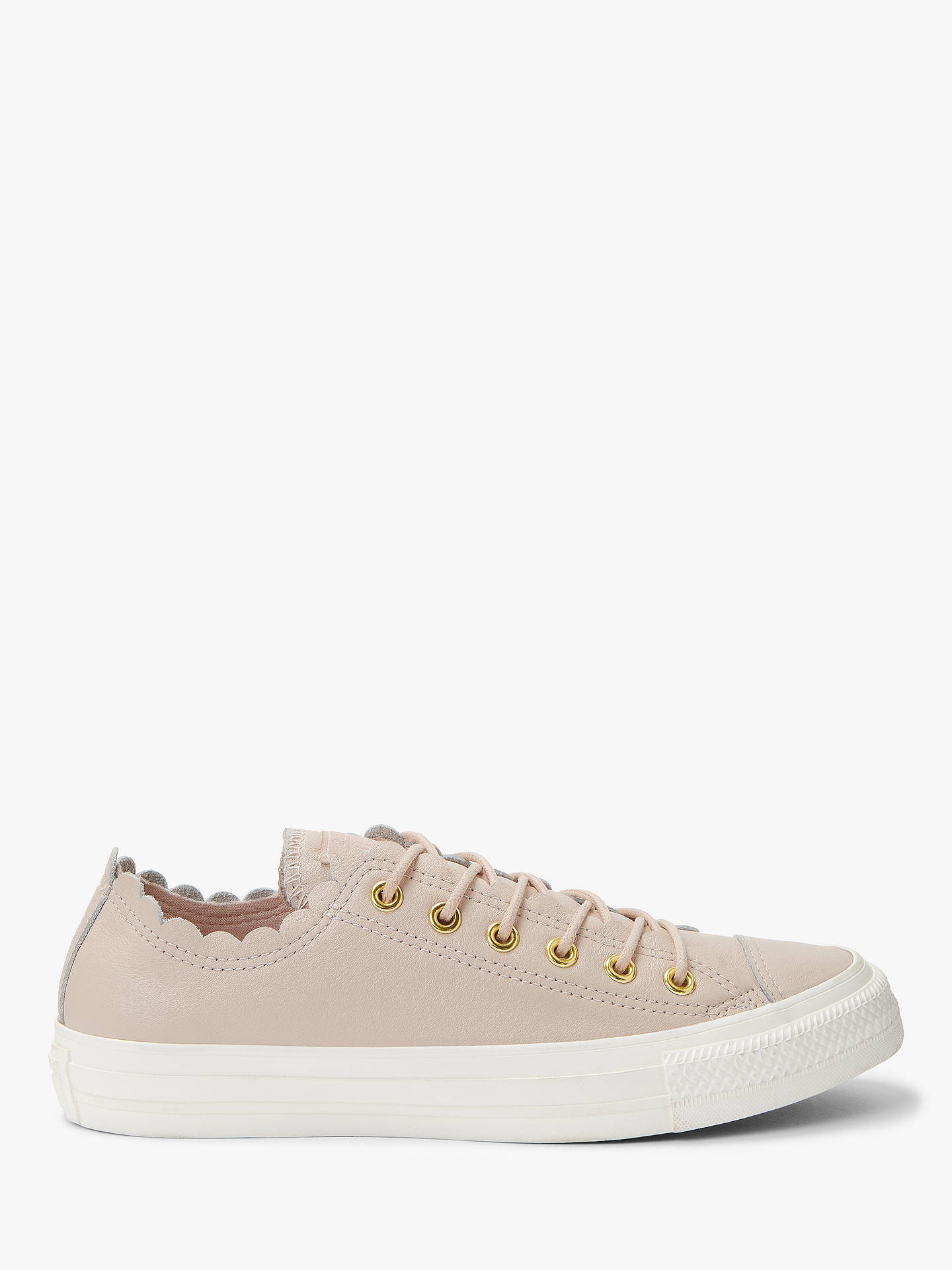c0076bb99dfb Converse Women s Chuck Taylor Scalloped Trainers at John Lewis ...