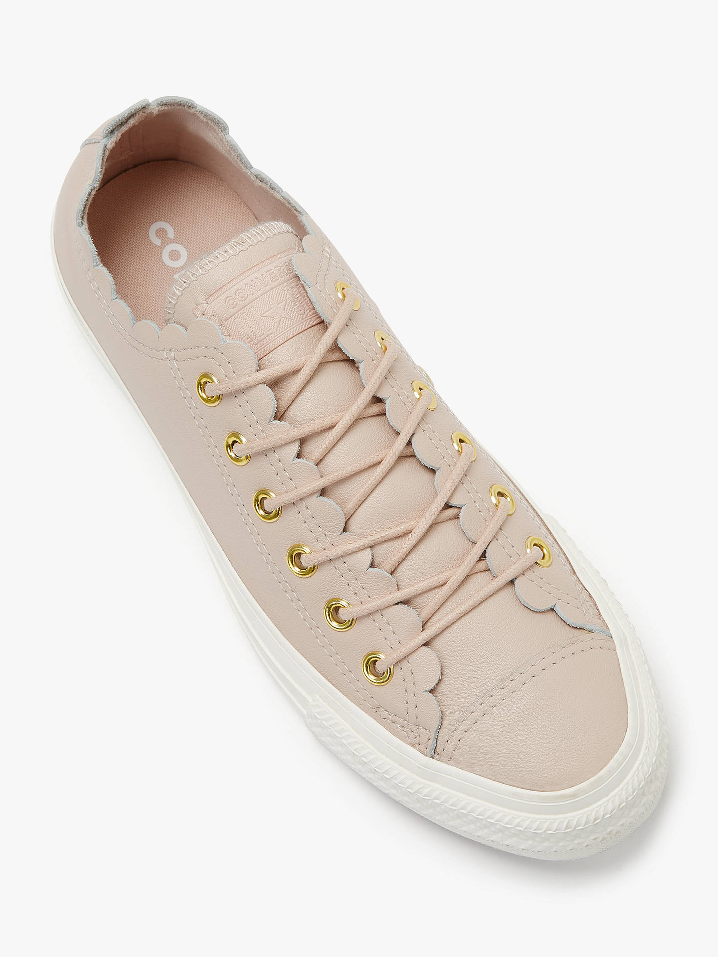 c6ee66016daa Converse Women s Chuck Taylor Scalloped Trainers at John Lewis ...
