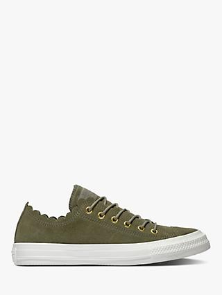 95933f0cc9576b Converse Women s Chuck Taylor Scalloped Trainers
