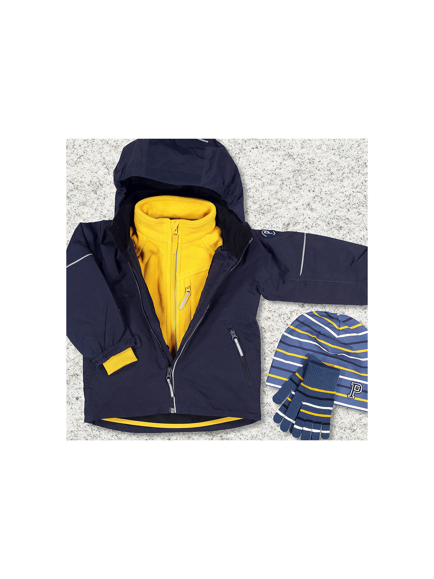 361021b4f Polarn O. Pyret Baby Waterproof Shell Coat
