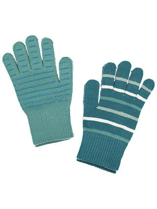 Buy Polarn O. Pyret Children's Striped Gloves, Blue, 4-12 years Online at johnlewis.com