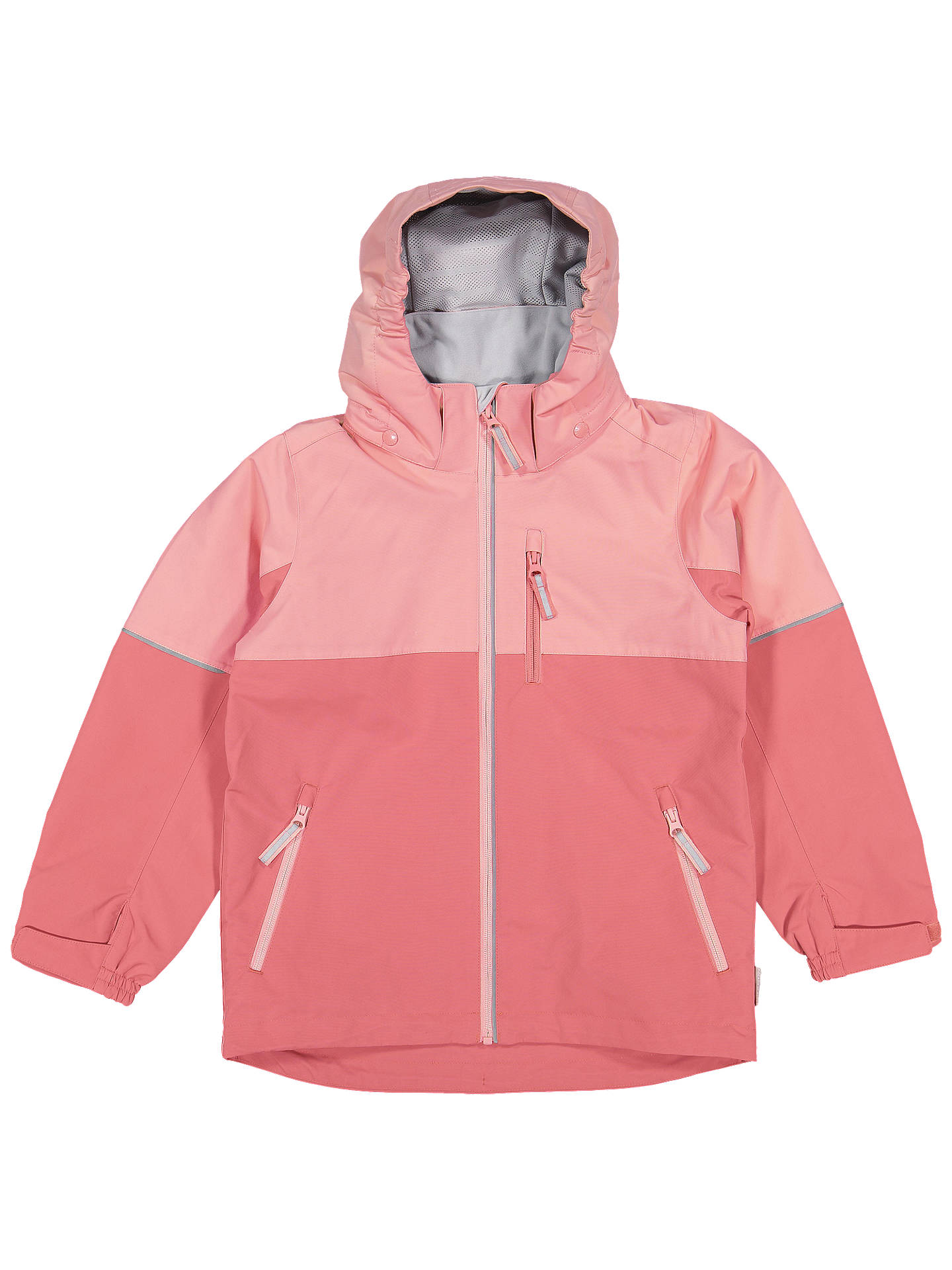 BuyPolarn O. Pyret Children's Waterproof Shell Coat, Pink, 2-3 years Online at johnlewis.com