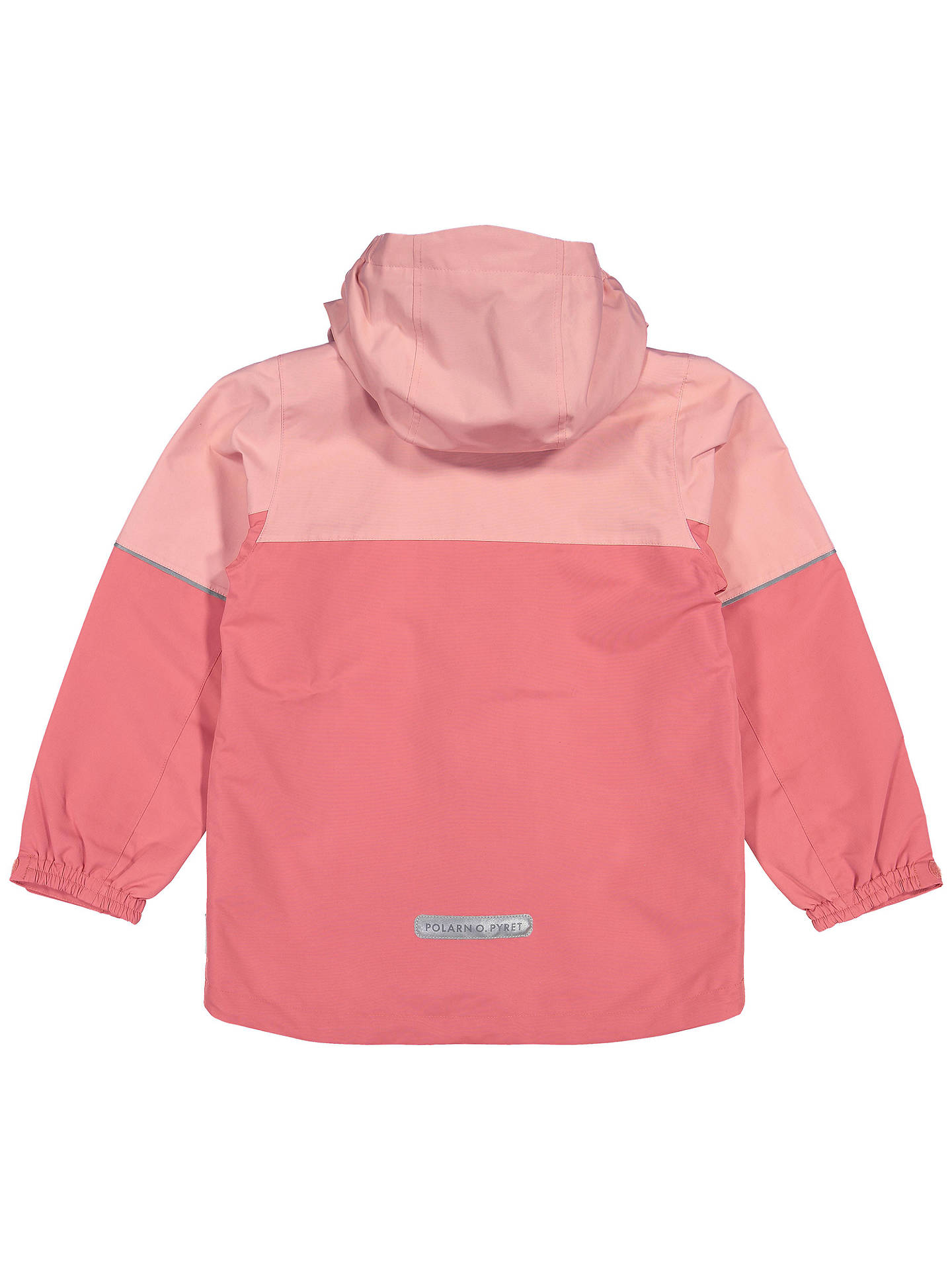 Buy Polarn O. Pyret Children's Waterproof Shell Coat, Pink, 2-3 years Online at johnlewis.com