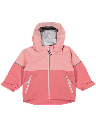 Buy Polarn O. Pyret Baby Waterproof Shell Coat, Faded Rose, 9-12 months Online at johnlewis.com