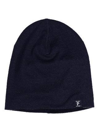 Buy Polarn O. Pyret Baby Merino Hat, Blue, 4-9 months Online at johnlewis.com