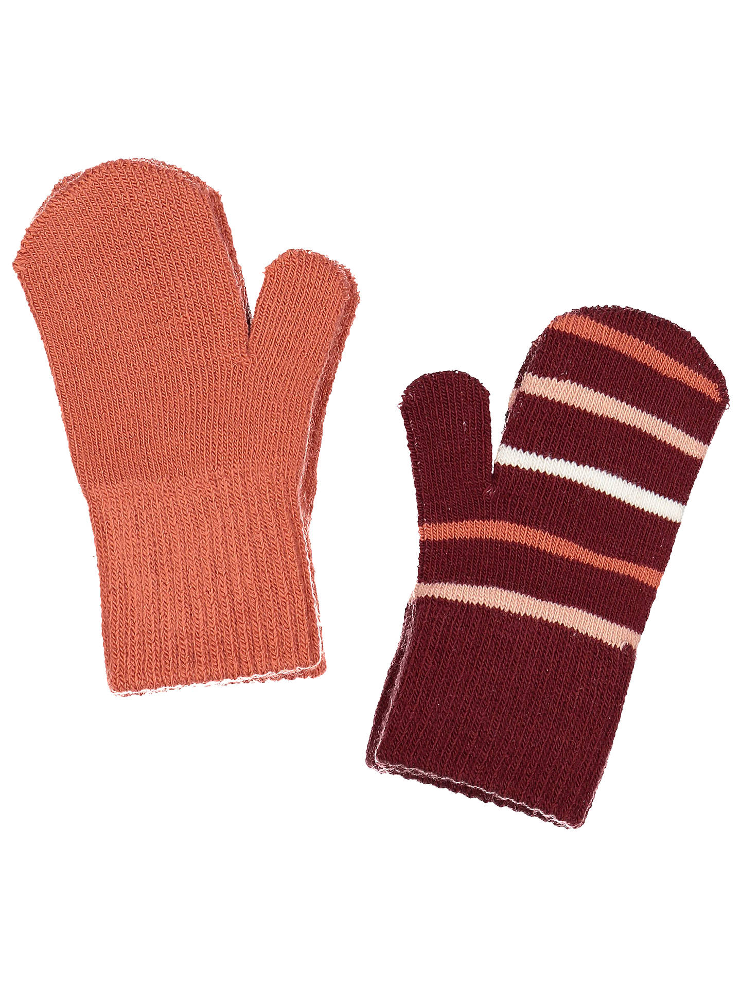 BuyPolarn O. Pyret Baby Magic Mittens, Red, 6 months- 4 years Online at johnlewis.com