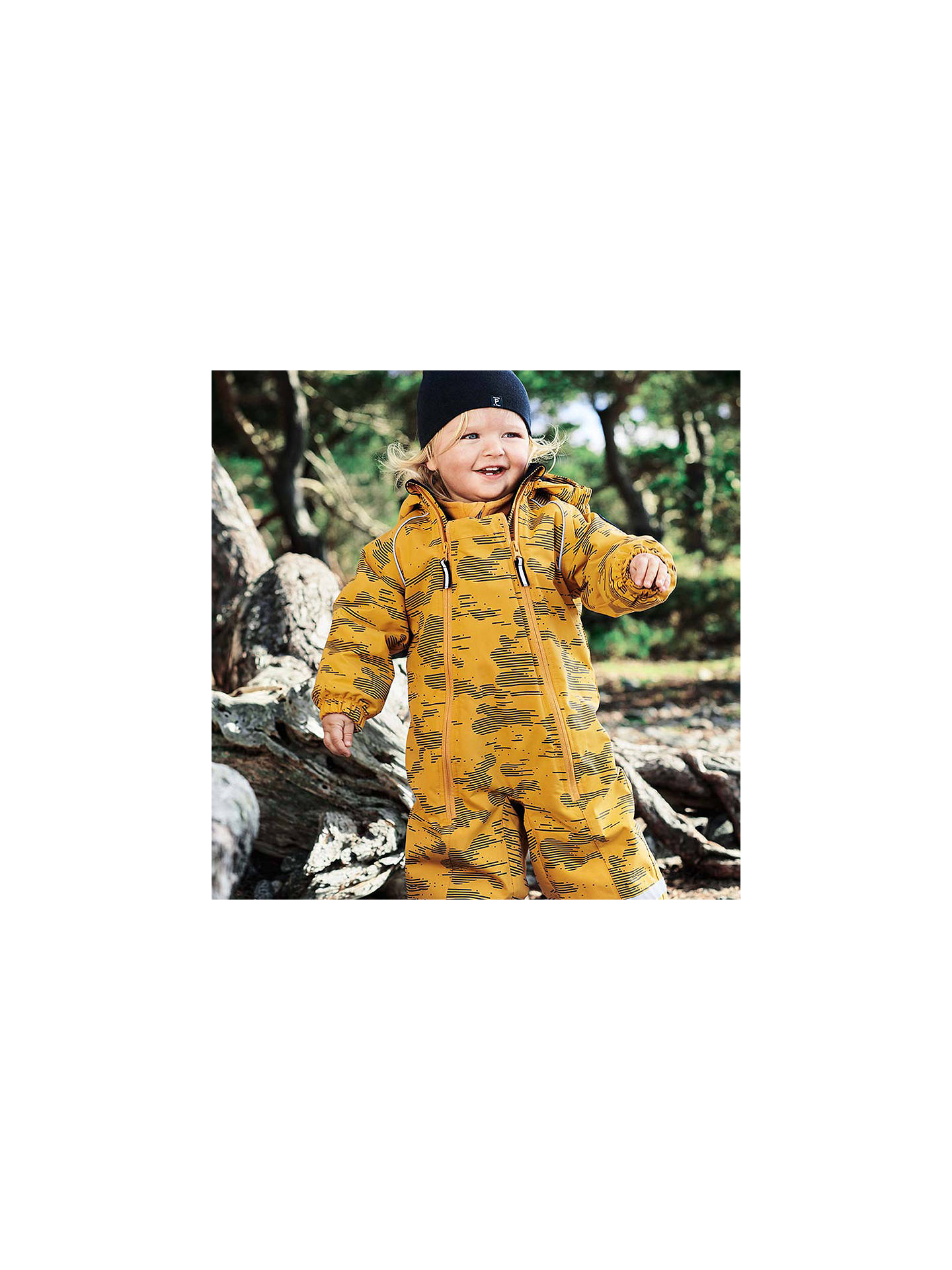 29932f8fb Polarn O. Pyret Baby Fleece Lined Waterproof Overall