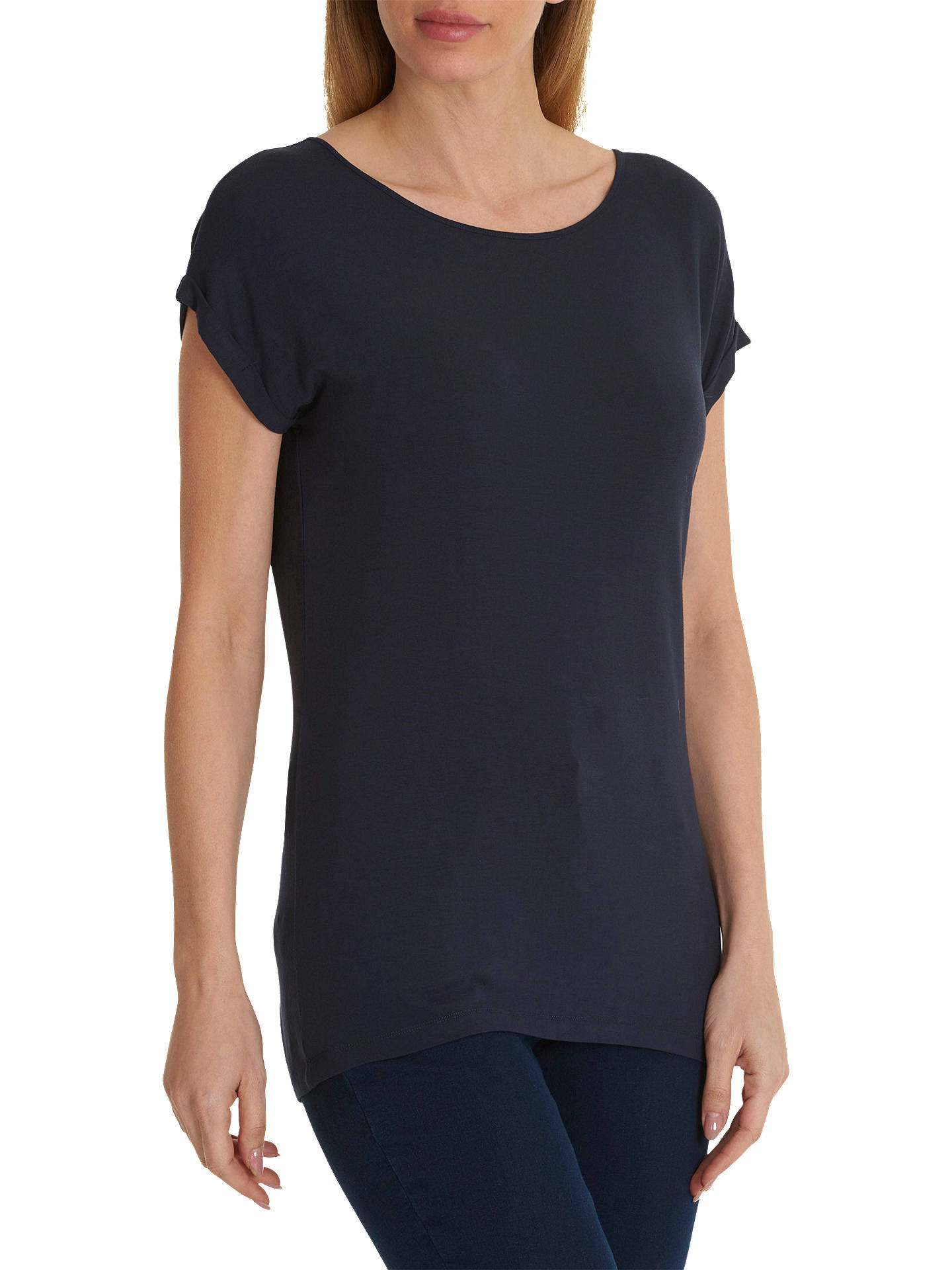 Buy Betty Barclay Cap Sleeve T-Shirt, Dark Sky, 16 Online at johnlewis.com