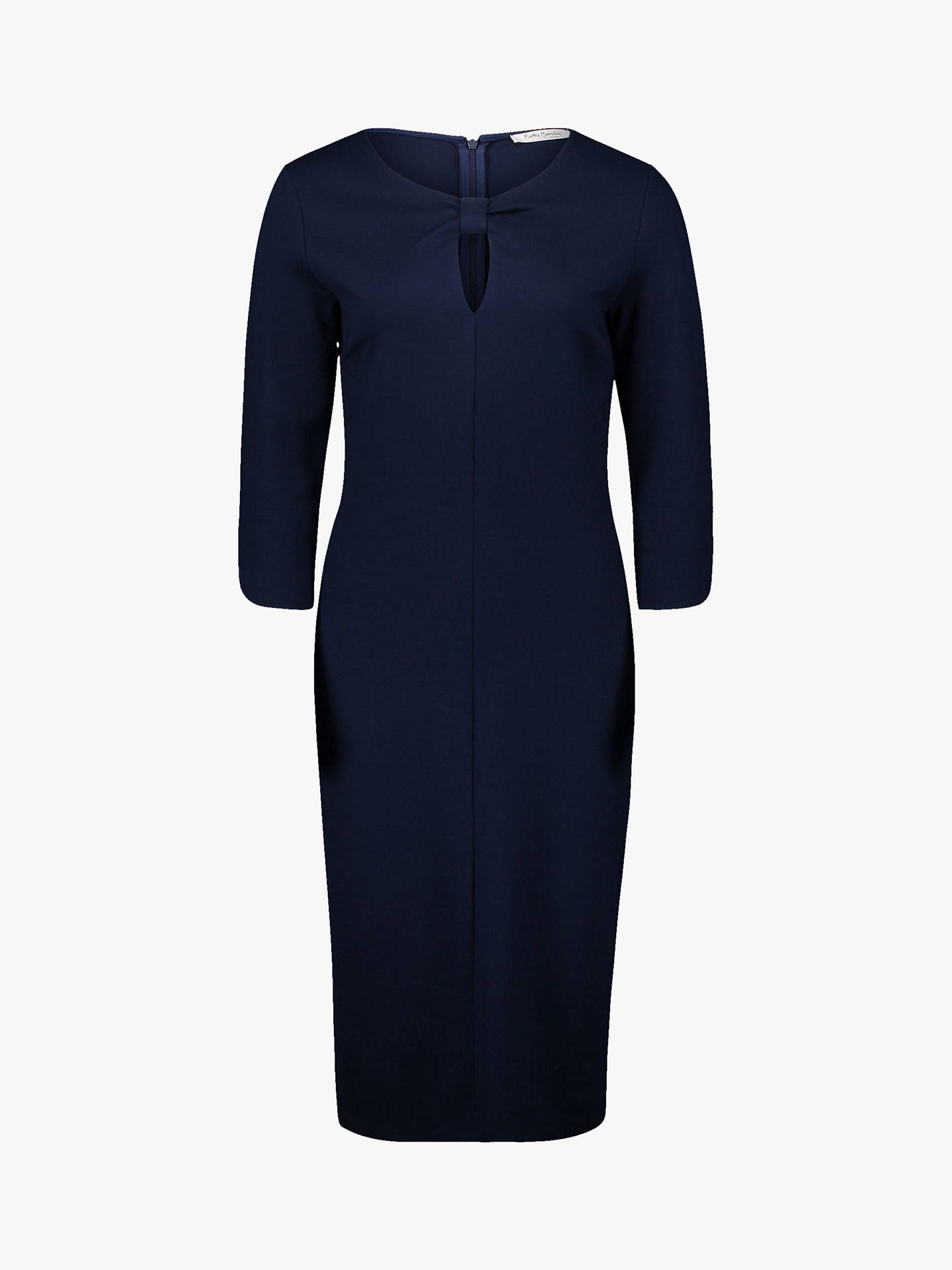 Buy Betty Barclay Keyhole Jersey Dress, Peacoat Blue, 10 Online at johnlewis.com