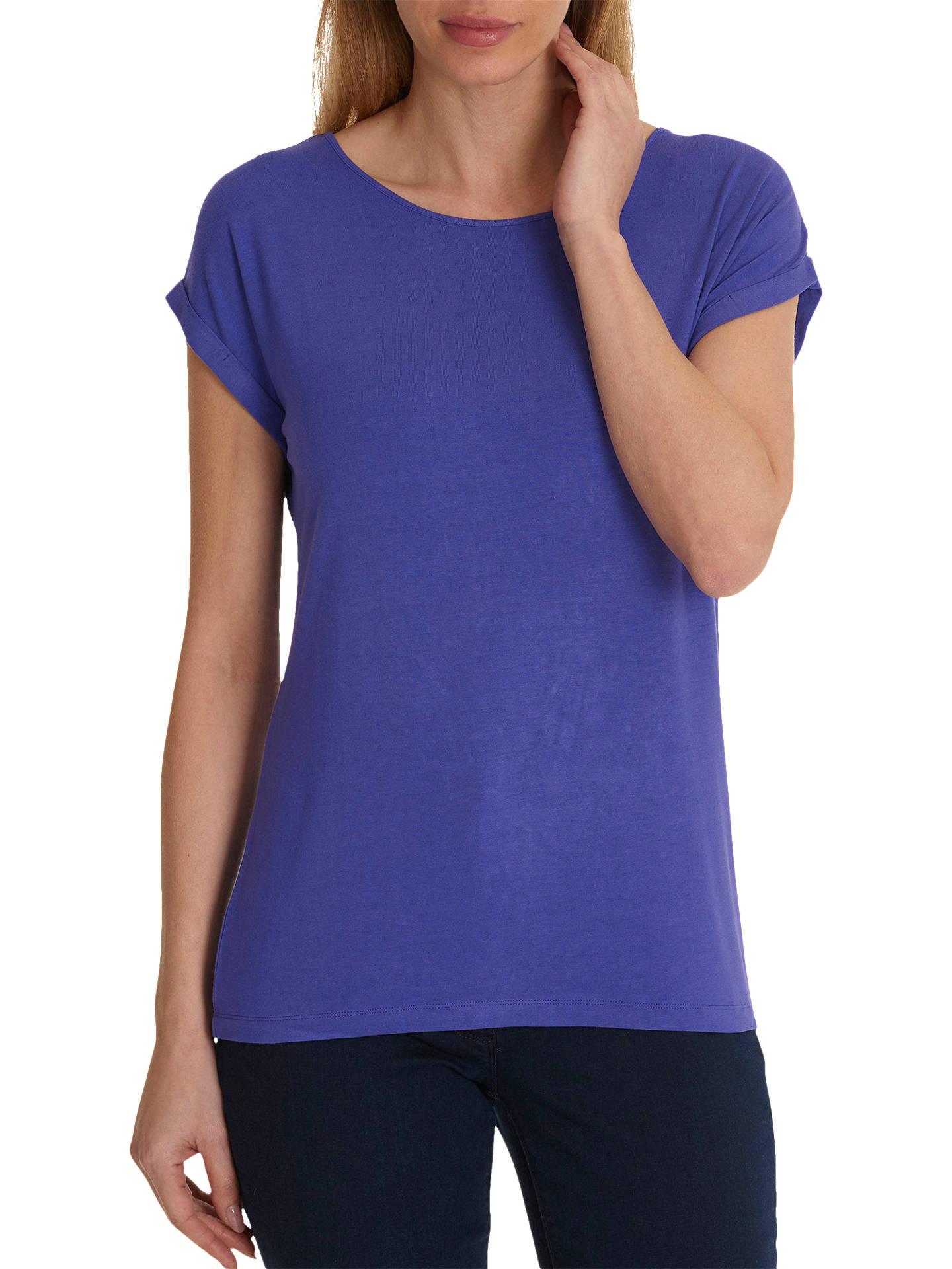BuyBetty Barclay Cap Sleeve T-Shirt, Liberty, 10 Online at johnlewis.com