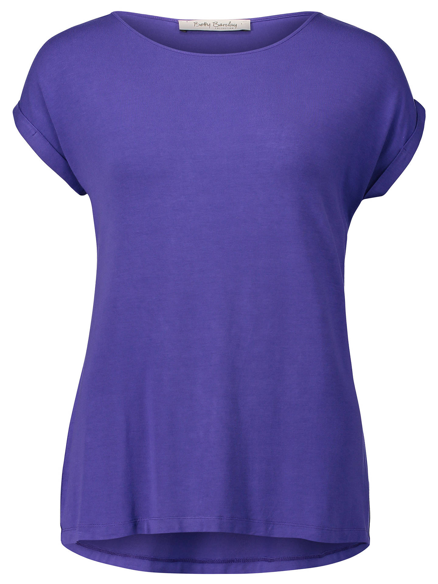 Buy Betty Barclay Cap Sleeve T-Shirt, Liberty, 10 Online at johnlewis.com