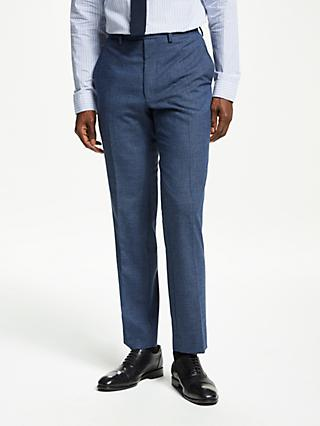 Kin Semi Plain Suit Trousers, Blue