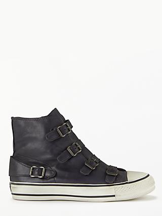 Ash Virgin Hi-Top Leather Trainers