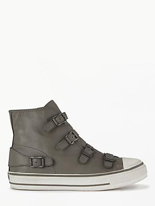 Ash Virgin Hi-Top Trainers, Moonstone Leather