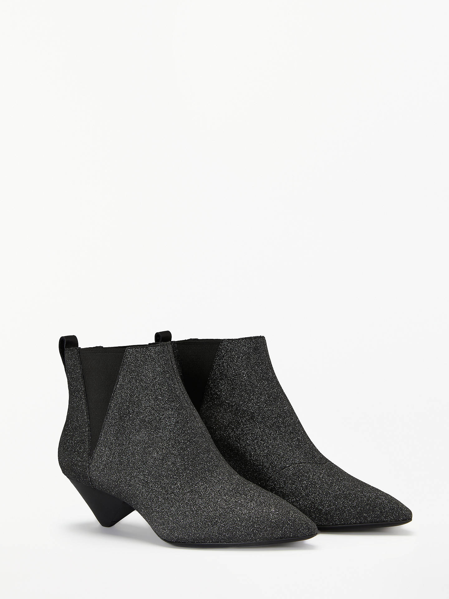 bdcb40c4e Buy Ash Cosmos Glitter Cone Heel Ankle Boots