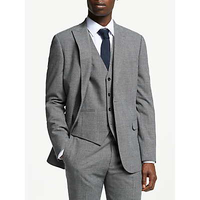 Kin Semi Plain Suit Jacket, Grey