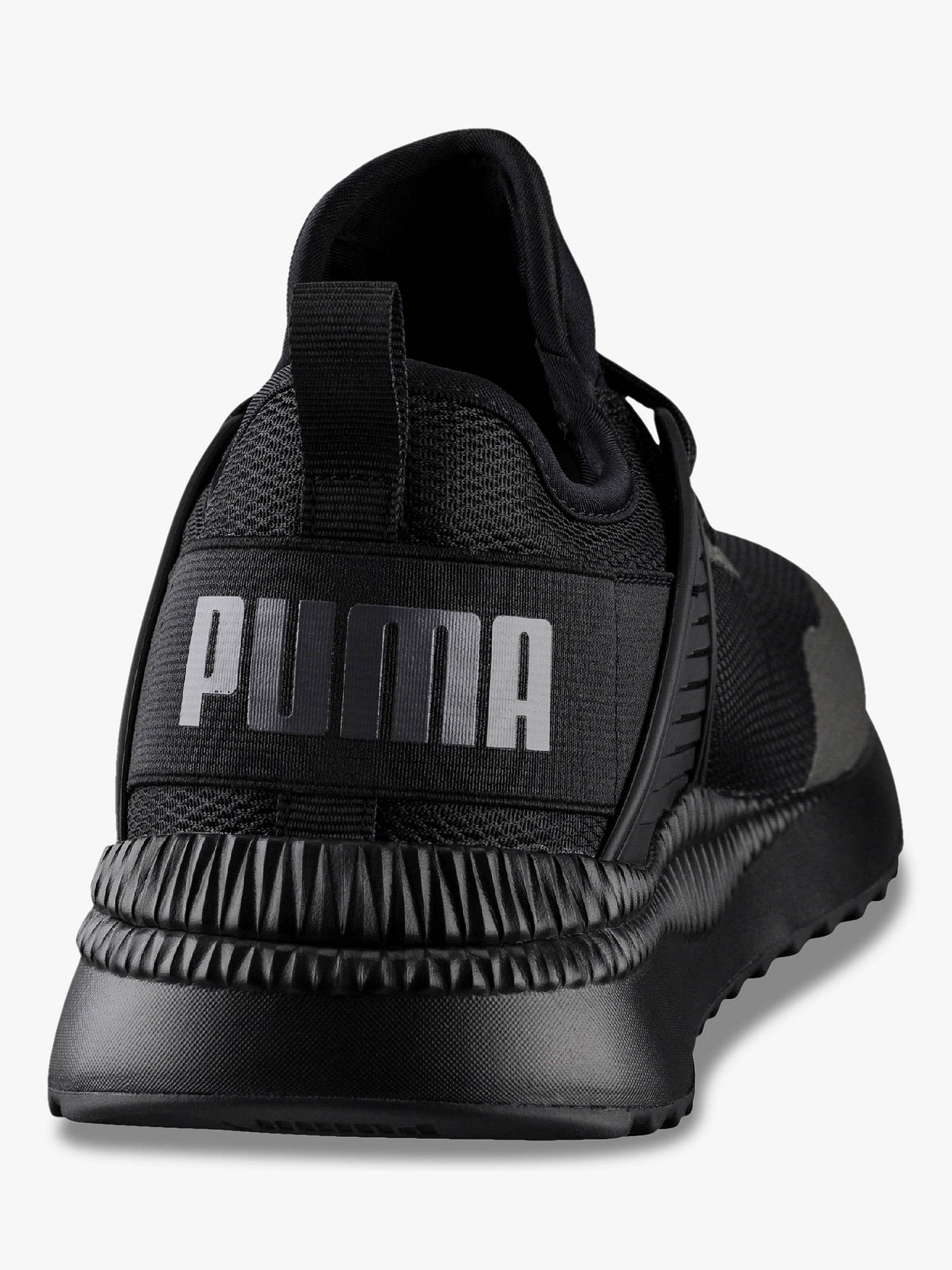 BuyPUMA Pacer Next Cage Men's Running Shoes, Black, 9 Online at johnlewis.com