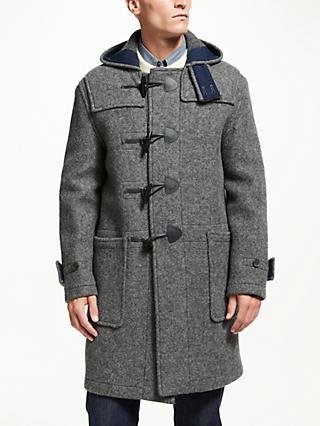 Gloverall for John Lewis & Partners Full Monty Duffle Coat, Charcoal