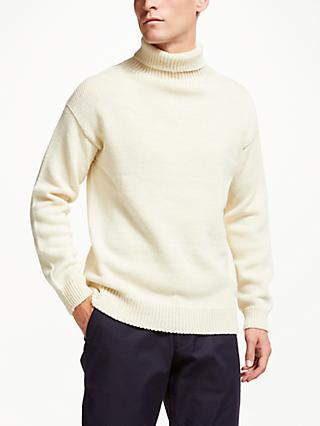 Gloverall for John Lewis & Partners Roll Neck Submariner Jumper