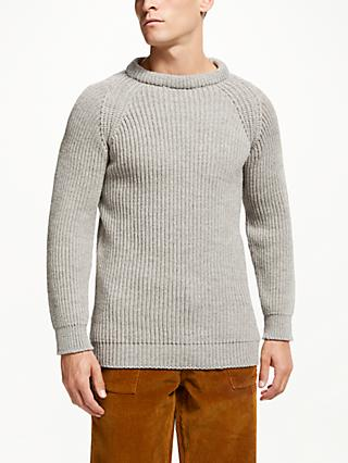 Gloverall for John Lewis & Partners Fisherman Jumper
