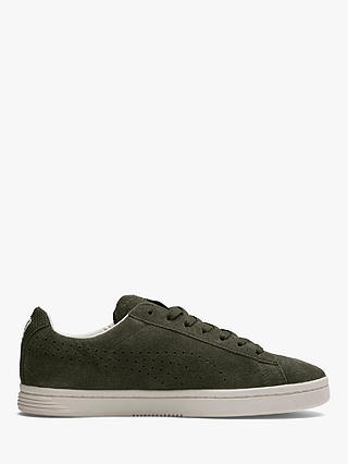 Buy PUMA Court Star Suede Interest Men's Trainers, Forest Night/Whisper White, 7 Online at johnlewis.com