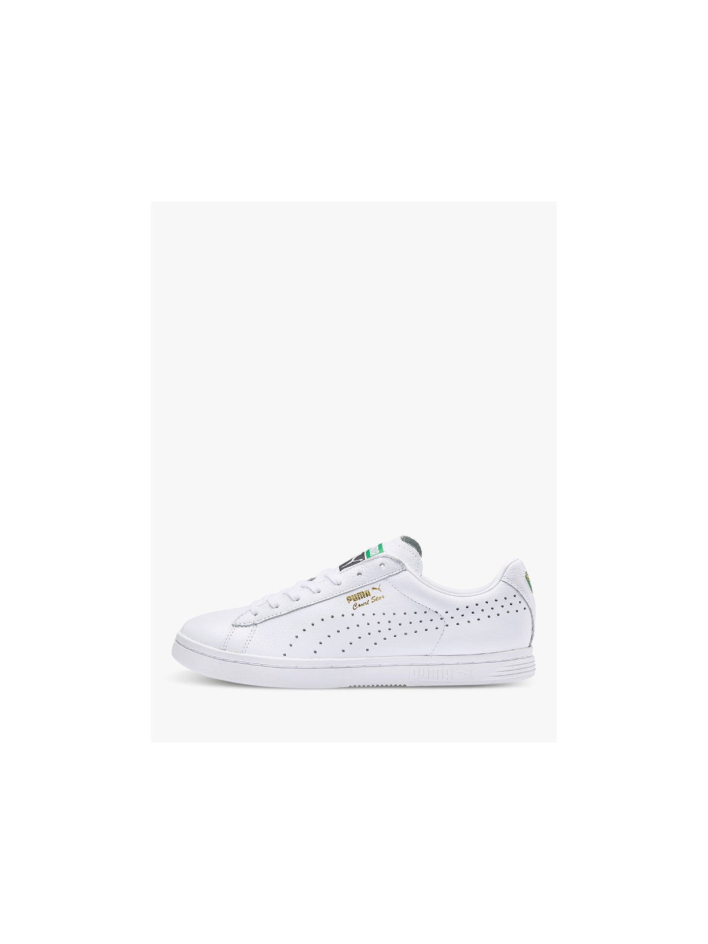 separation shoes 425fd 9079f PUMA Court Star Men's Trainers, White