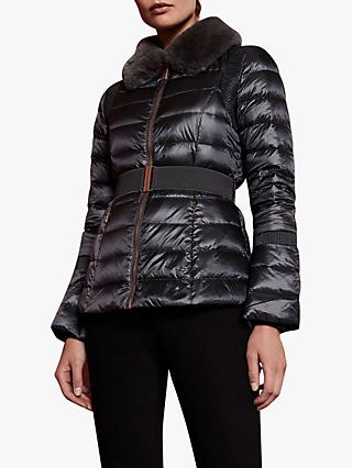 Ted Baker Yelta Quilted Down Jacket, Grey
