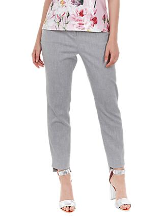 Ted Baker Daizit Stitch Detail Skinny Trousers, Grey