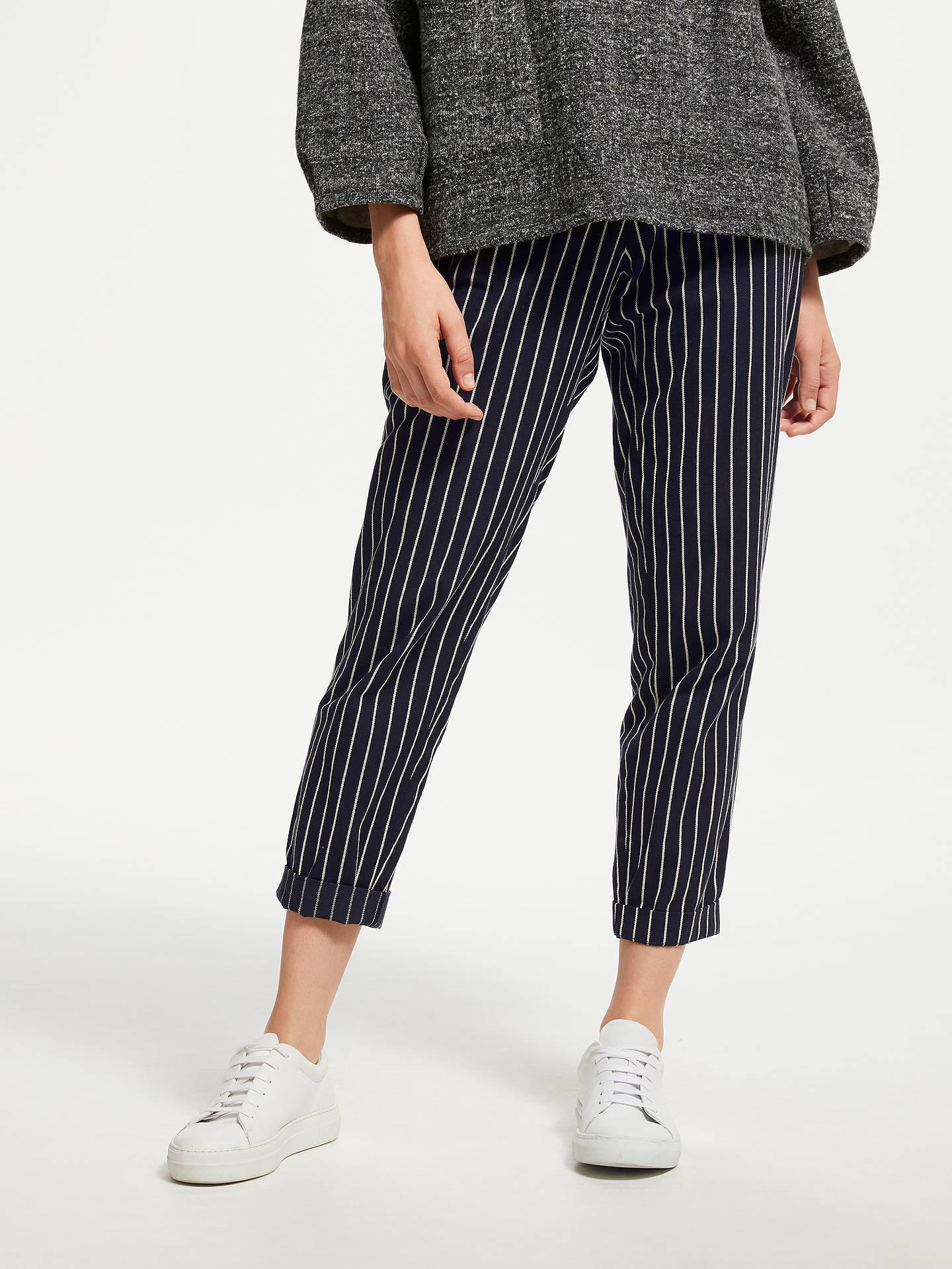 84329718fe Buy People Tree Corin Pinstripe Trousers