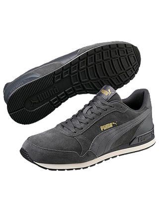 Buy PUMA ST Runner V2 SD Men's Trainers, Iron Gate/Whisper White, 12 Online at johnlewis.com