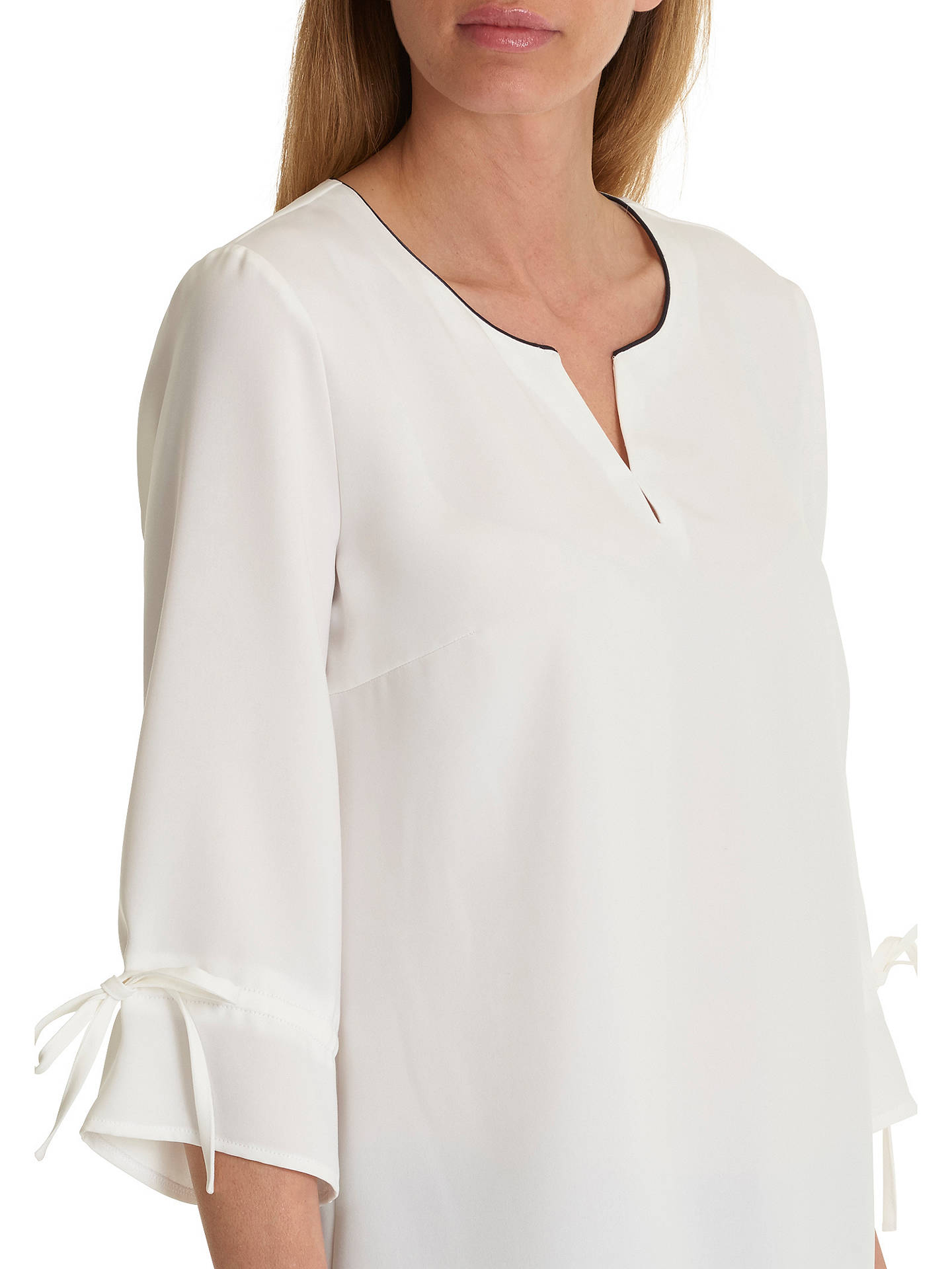 BuyBetty Barclay Crepe Blouse, Snow White, 10 Online at johnlewis.com