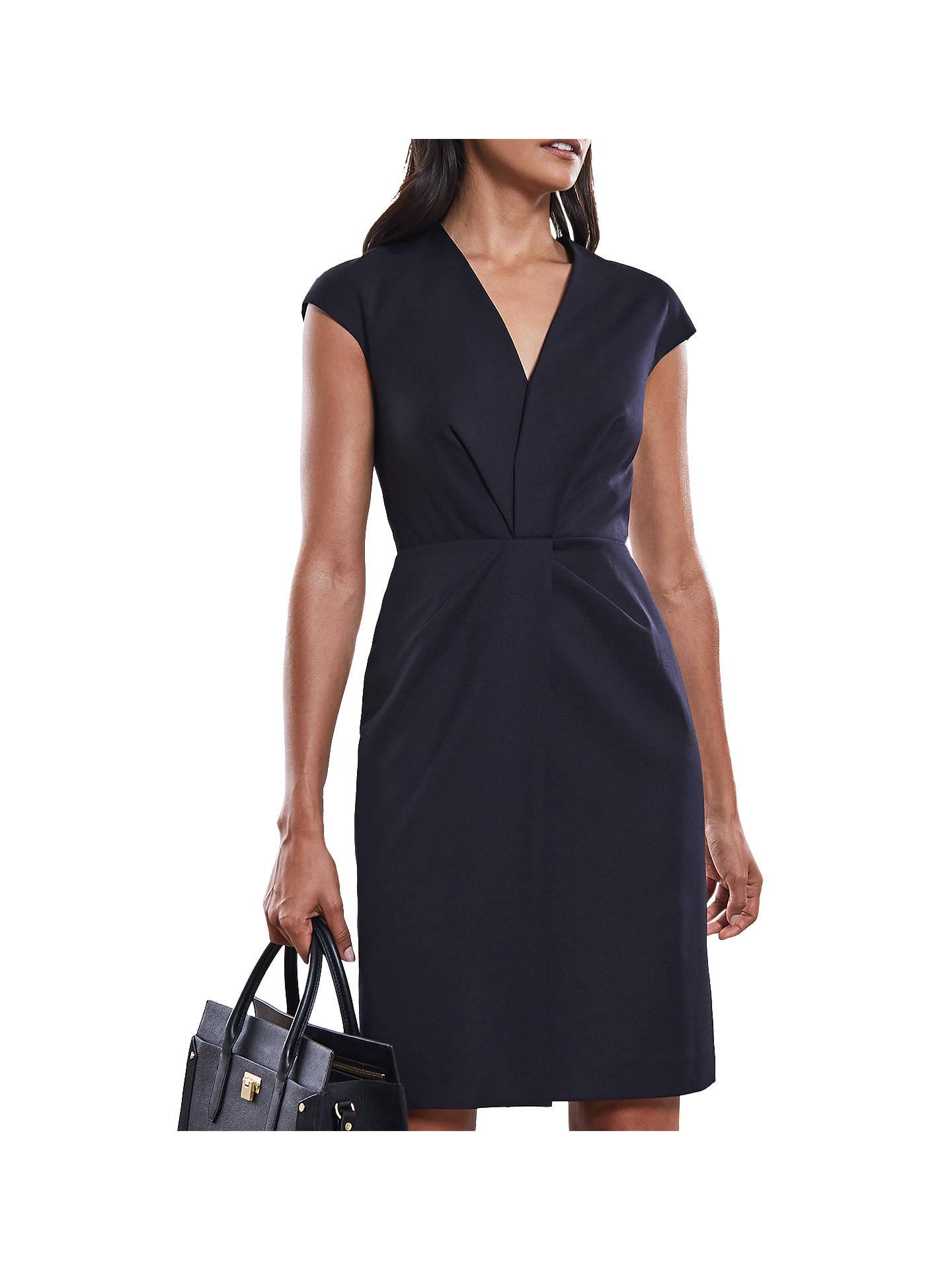 6125a4973e9 Buy Reiss Fenton Tailored Wrap Bodice Dress