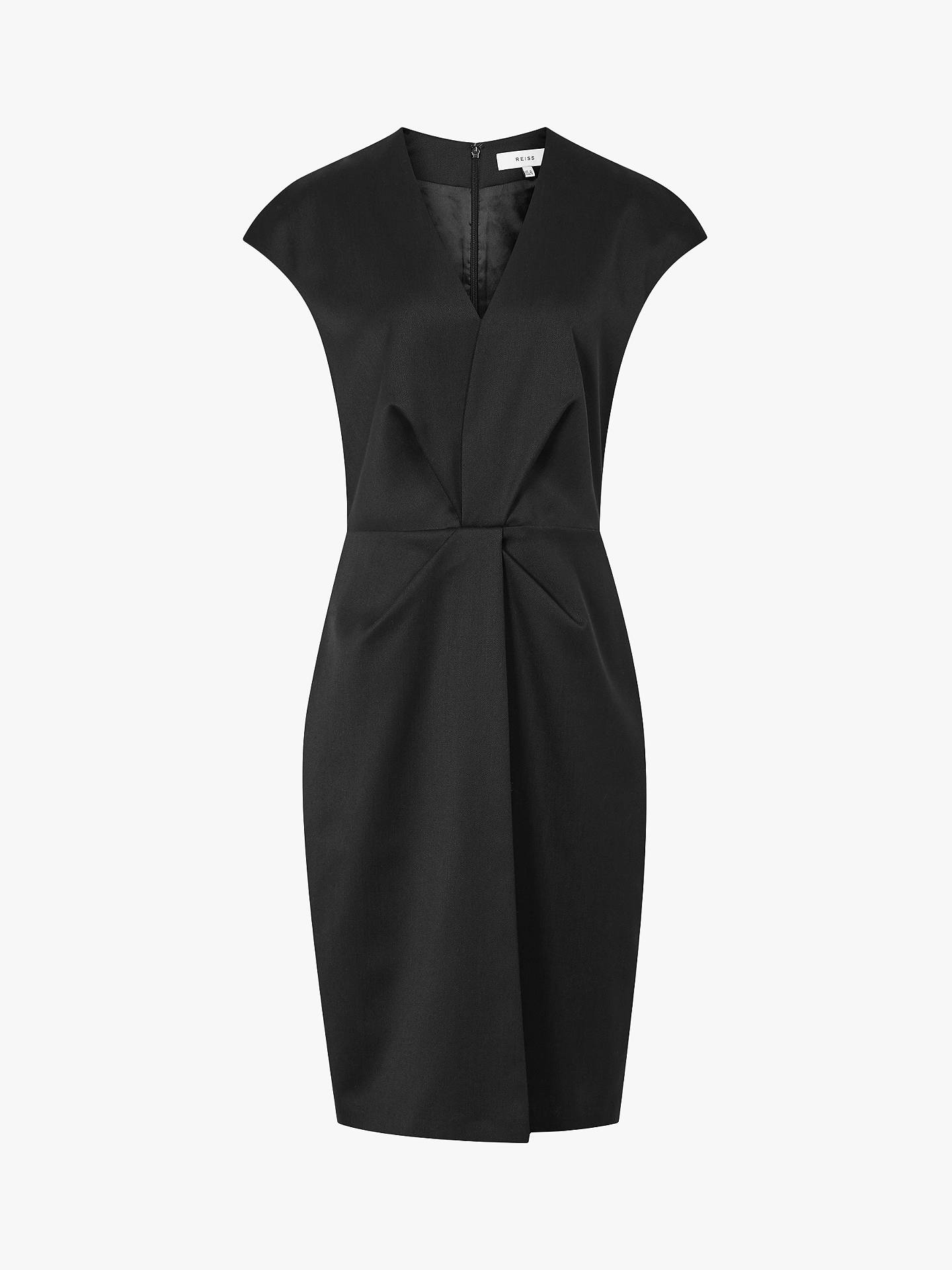 BuyReiss Harper Tailored Dress, Black, 6 Online at johnlewis.com