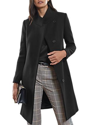Reiss Mabel Single Breasted Coat