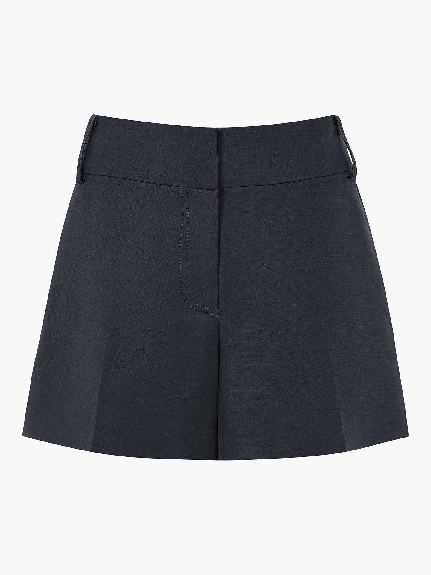 Buy Reiss Lyla Smart Shorts, Navy, 6 Online at johnlewis.com