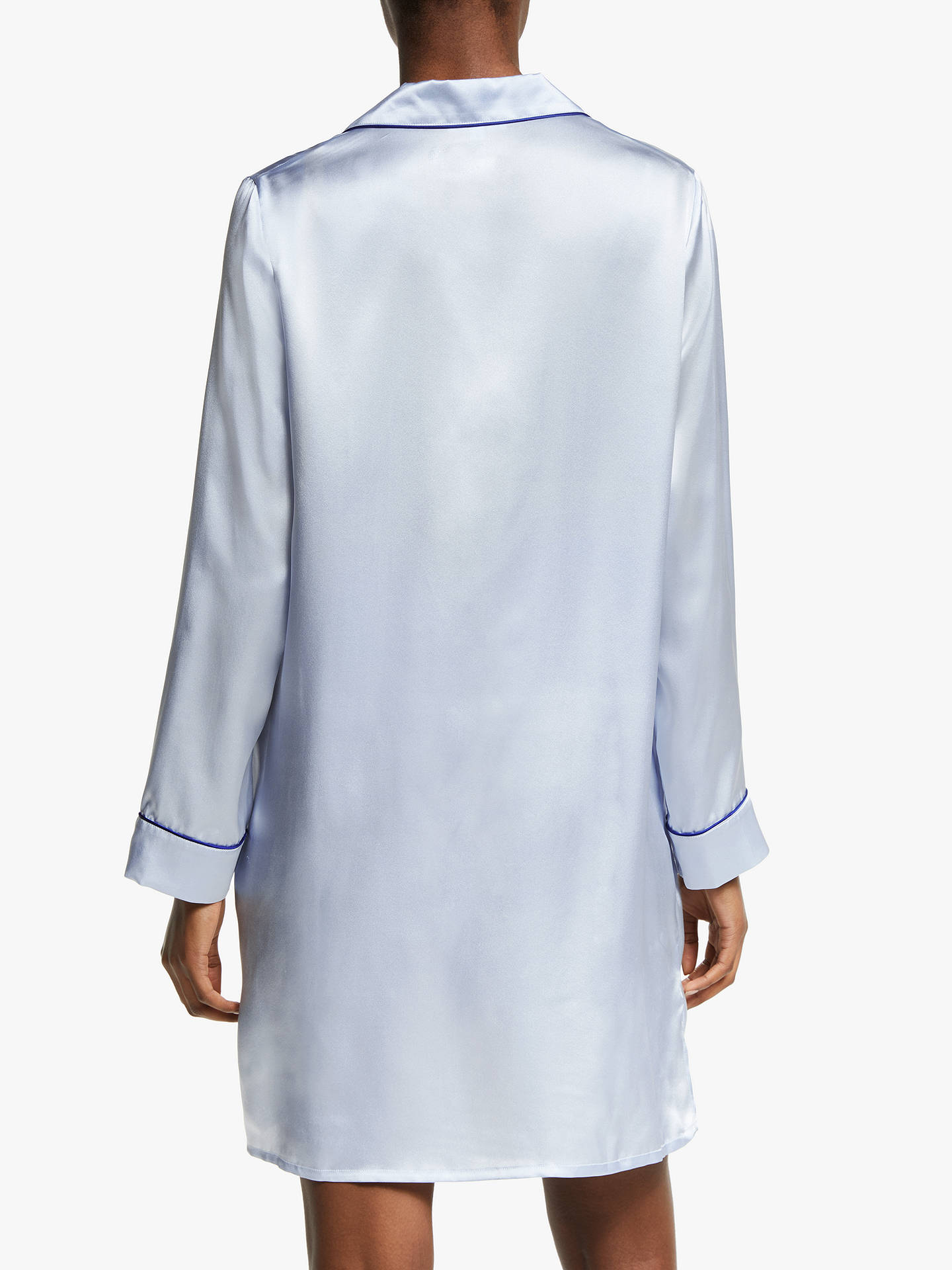 3f8abd4b5a ... BuyJohn Lewis   Partners Silk Piped Nightshirt