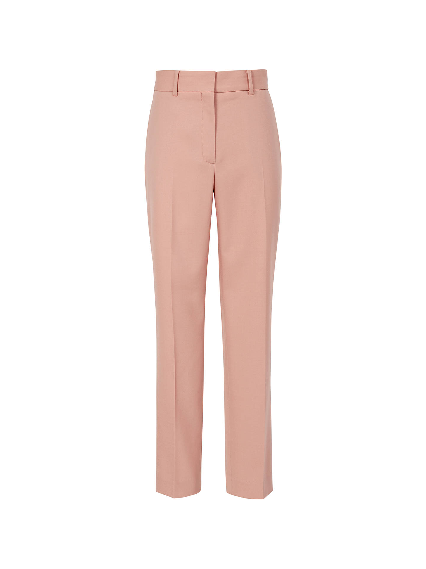 BuyReiss Lilli Tapered Tailored Trousers, Apricot, 8 Online at johnlewis.com