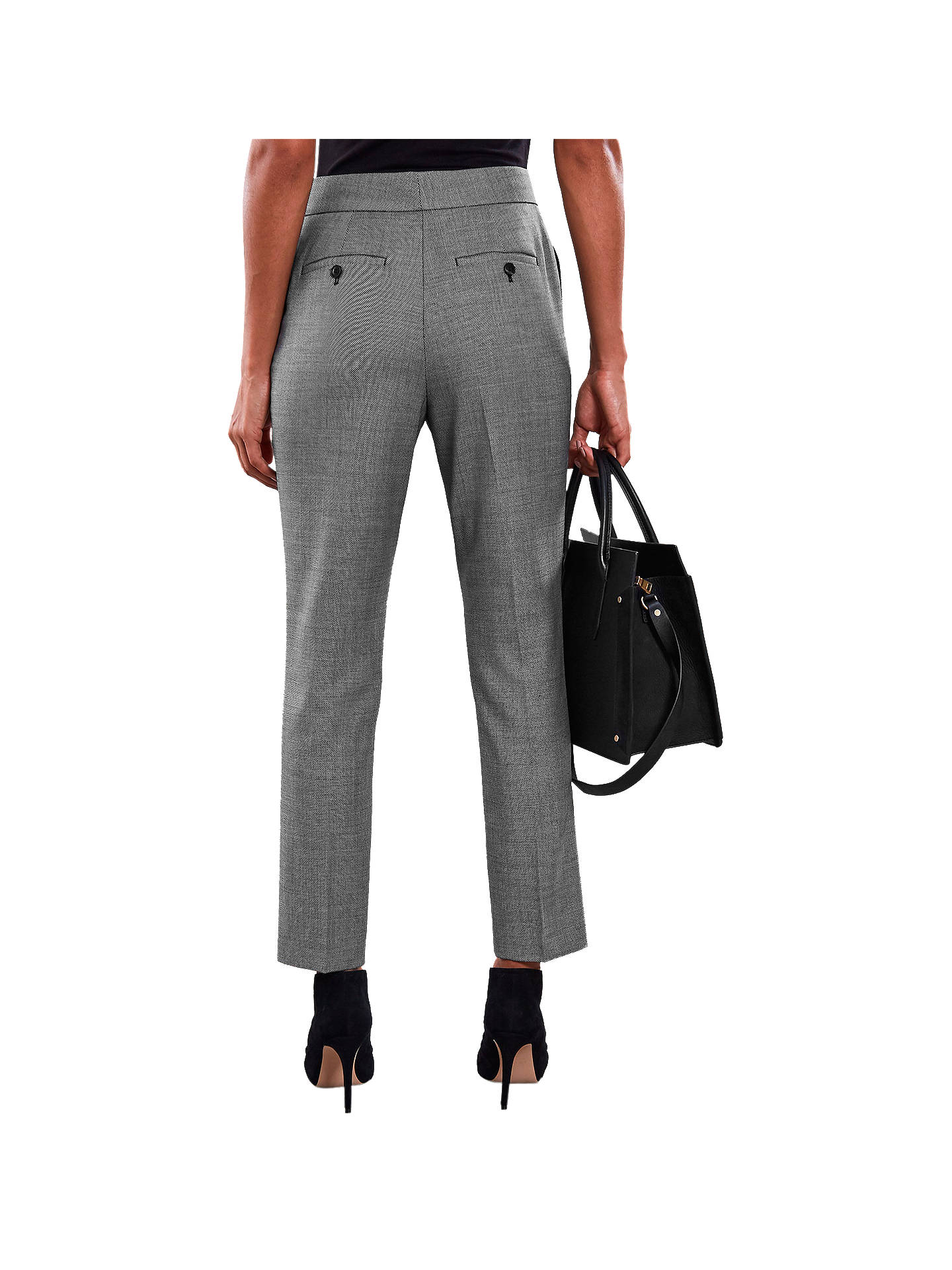 BuyReiss Alber Slim Trousers, Grey, 6 Online at johnlewis.com