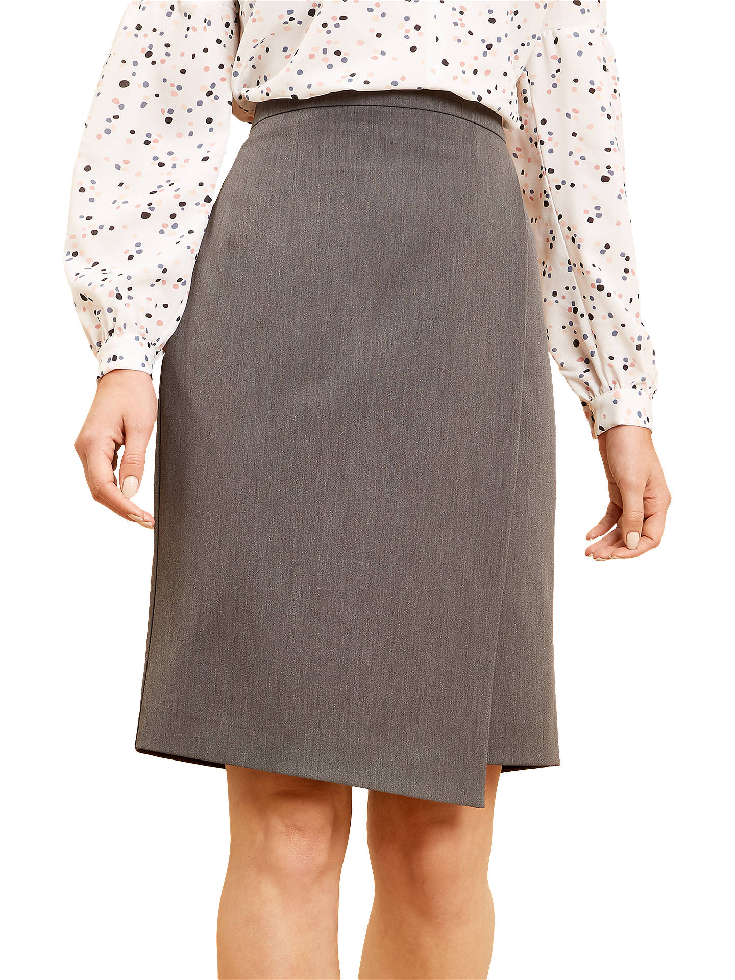 Buy Fenn Wright Manson Raye Skirt, Grey, 12 Online at johnlewis.com