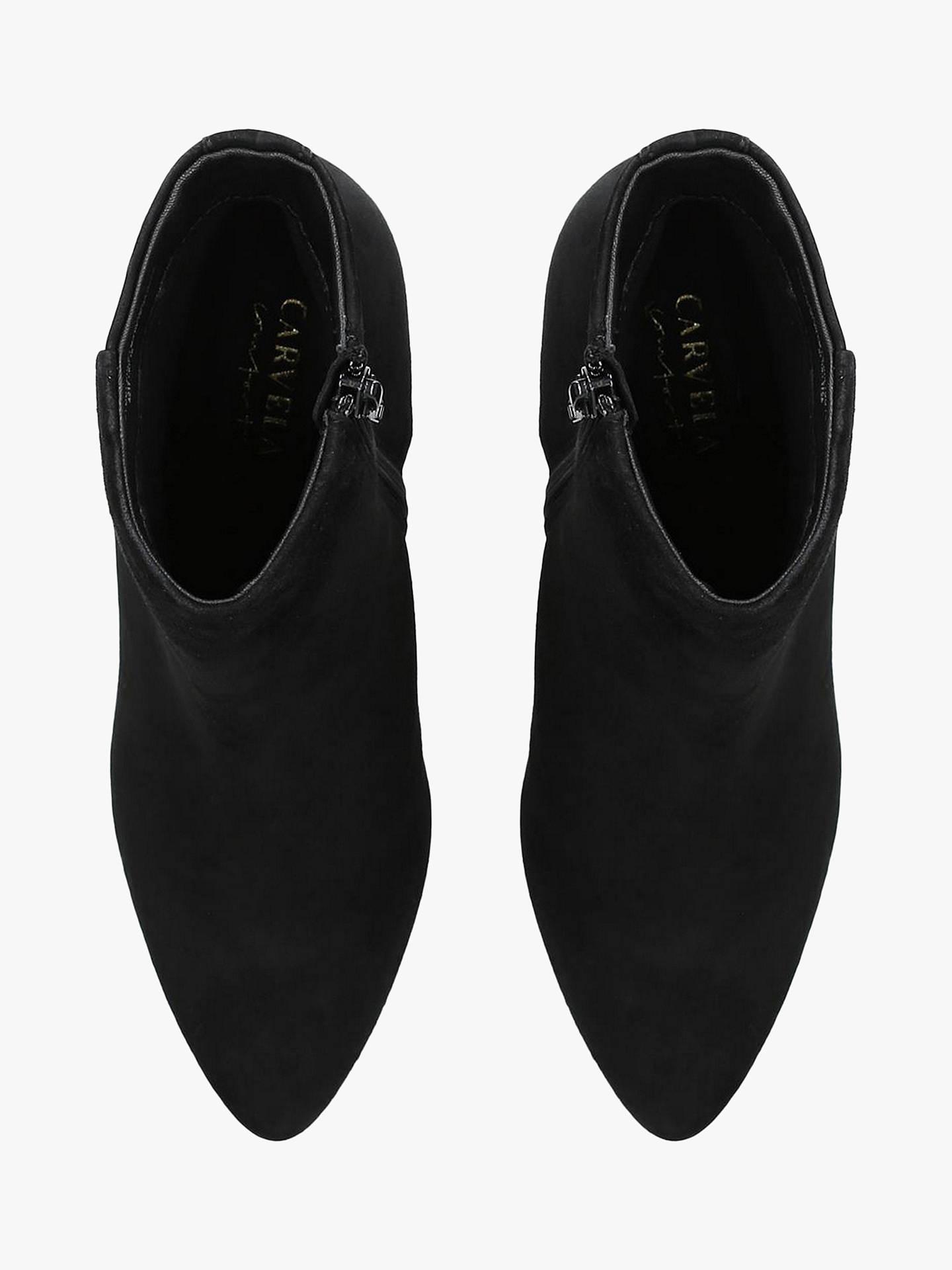 fa81504c56f Carvela Comfort Romy Stiletto Pointed Toe Ankle Boots, Black