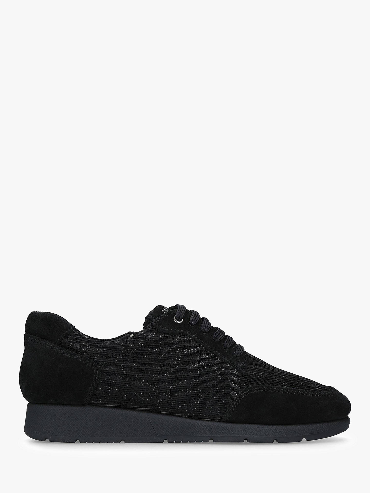 BuyCarvela Comfort Comma Textured Trainers, Black, 4 Online at johnlewis.com