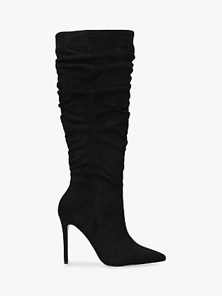Carvela Patrice Stiletto Heel Knee Boots, Black