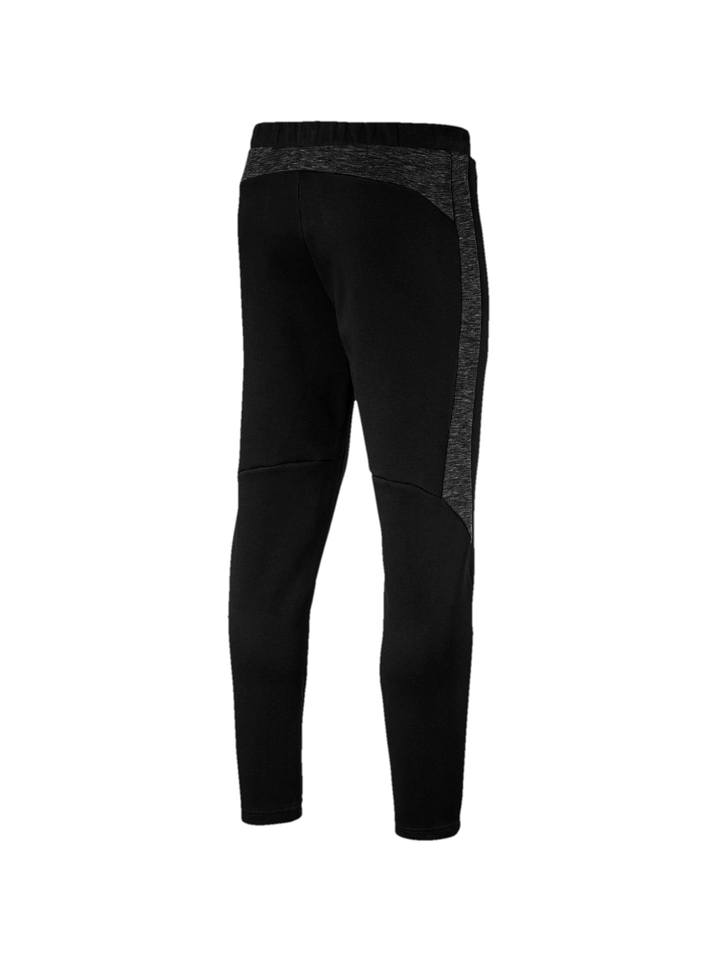 Buy PUMA Evostripe Training Tracksuit Bottoms, Cotton Black, S Online at johnlewis.com